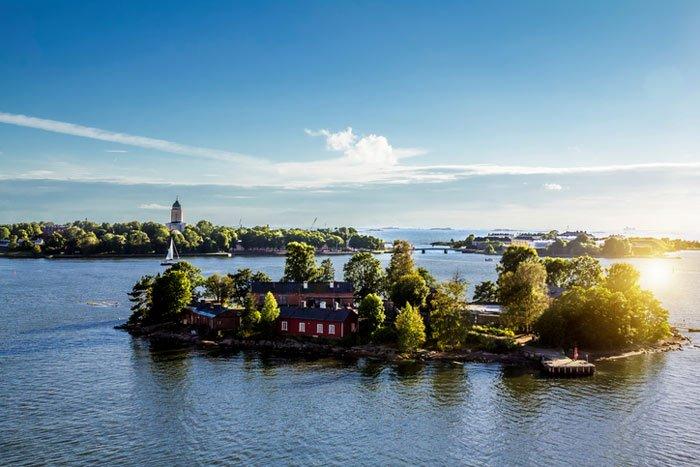 Finland Suomenlinn Island